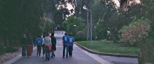 Rundgang im Kibbuz
