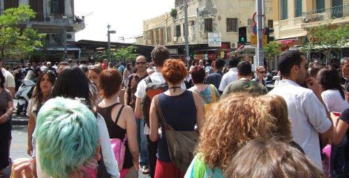 Freizeit in Tel Aviv
