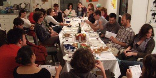 Seder in der Kommune