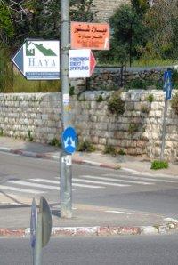 Wegweiser zur FES Ostjerusalem