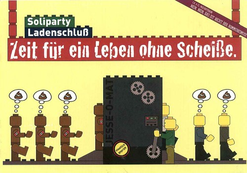 Flyer der Soliparty