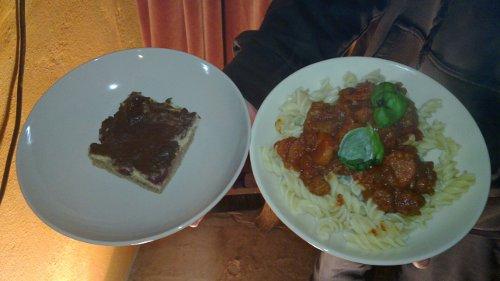 Essen von der Vokue im Februar